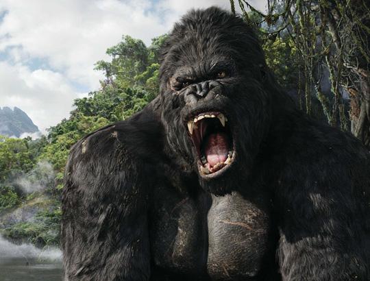 King Kong zeigt die Zähne im Remake von 2005
