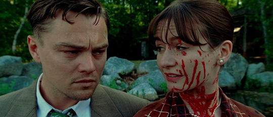 "Ziemlich blutig: Emily Mortimer neben Leonardo DiCaprio in ""Shutter Island"""