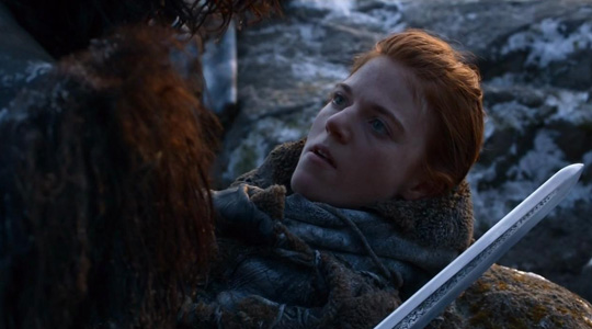 "Im eisigen Norden: Rose Leslie in ""Game of Thrones"""