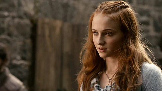 """Sophie Turner in HBO's Erfolgsserie """"Game of Thrones"""""""