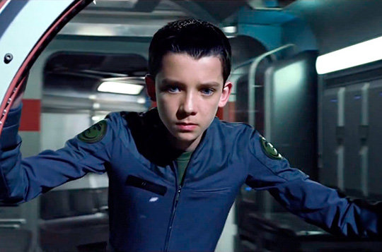 "Weltenretter: Asa Butterfield in der Buchadaption ""Ender's Game"""