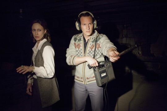 "Auf Geisterjagd: Patrick Wilson neben Vera Farmiga in ""The Conjuring"""