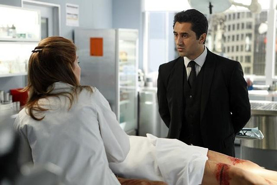 Darf sich den Untoten stellen: Cliff Curtis in Body of Proof von ABC