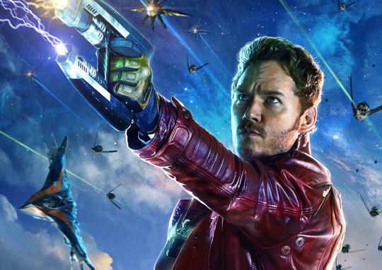 """Chris Pratt macht derzeit als einer der """"Guardians of the Galaxy"""" den Weltraum unsicher"""