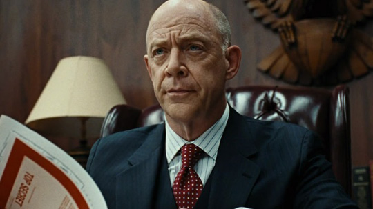 "J.K. Simmons in der langlebigen Erfolgsserie ""The Closer"" von TNT"