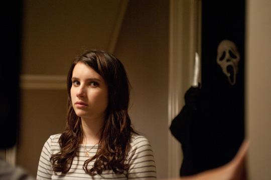 Keine Angst vor bösen Rollen: Emma Roberts in Scream 4