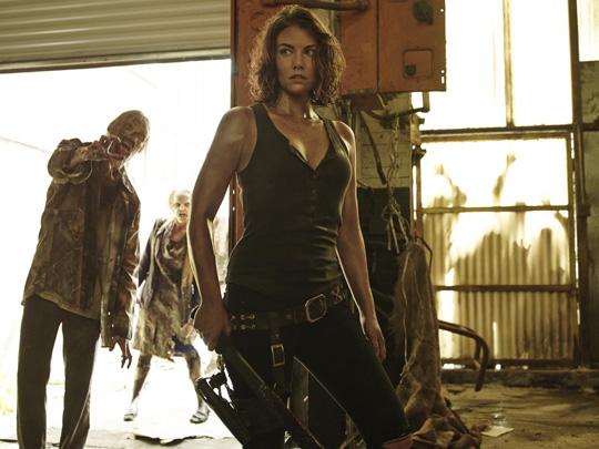 """Eine Frau fürs Grobe: Lauren Cohan in """"The Walking Dead"""" von AMC TV"""