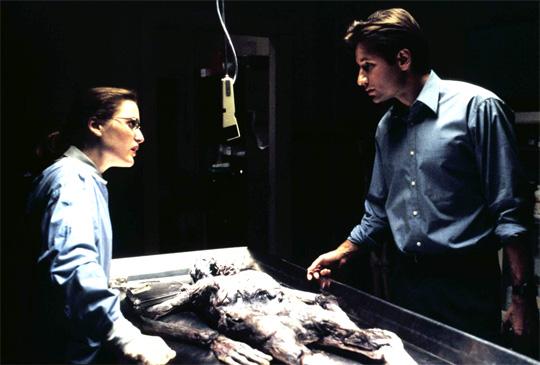 Ermitteln bald wieder gemeinsam: Dana Scully und Fox Mulder