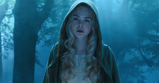 "Elle Fanning in ""Maleficent - Die dunkle Fee"" von Walt Disney"