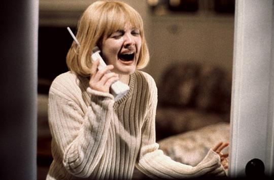 Die berühmte Szene mit Drew Barrymore muss als Vorlage herhalten