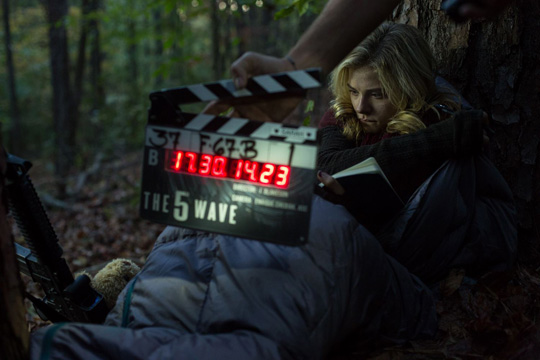"Chloe Moretz am Set zu ""The 5th Wave"" von Sony/Columbia Pictures"