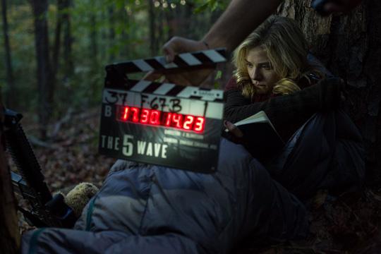 """Chloe Moretz am Set zu """"The 5th Wave"""" von Sony/Columbia Pictures"""