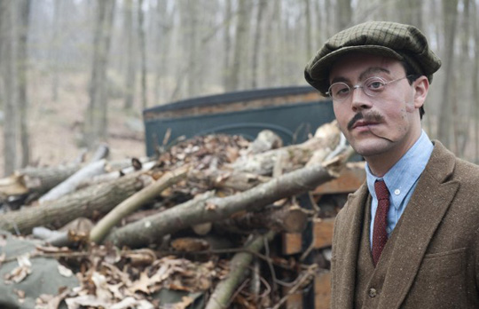 "Zeigt sich in ""The Crow"" ohne Maske: Jack Huston (""Boardwalk Empire"")"