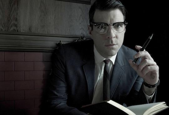 """Lässt sich diesmal selbst vom Psychologen behandeln: Zachary Quinto in """"American Horror Story"""""""