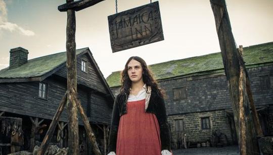 """Jessica Brown Findlay in """"Jamaica Inn"""" von Acorn TV"""
