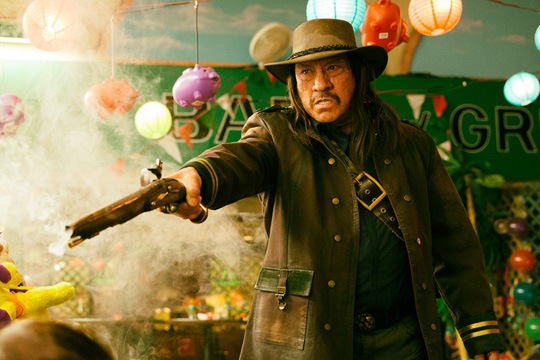 "Danny Trejo als ""The Regulator"". ©El Rey"