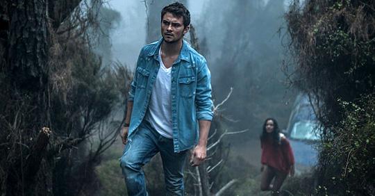 """Gefahren in der Wildnis sind für Shiloh Fernandez, hier in """"Evil Dead"""", nichts Neues"""