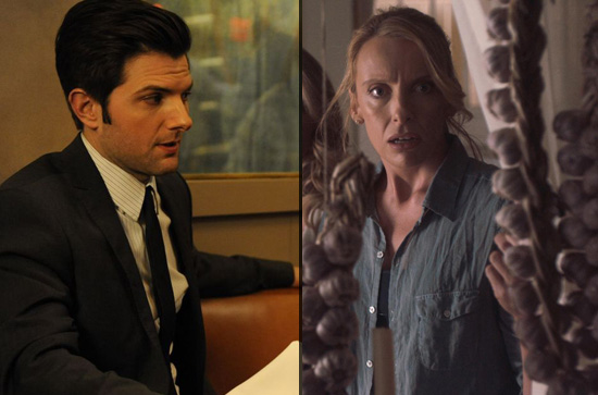 "Adam Scott (""Burning Love"" und Toni Collette (""Fright Night"")"