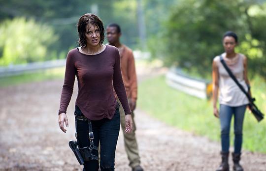 """Lauren Cohan in der aktuellen Staffel zu """"The Walking Dead"""" von AMC TV"""