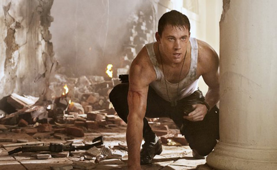 "Channing Tatum in ""White House Down"" von Sony Pictures"