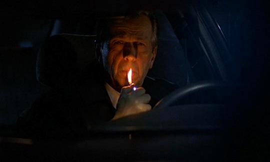 Auch er darf nicht fehlen: Der mysteriöse Kettenraucher