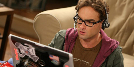 "Als Kultnerd Leonard in ""The Big Bang Theory"". ©Warner Bros. Television"