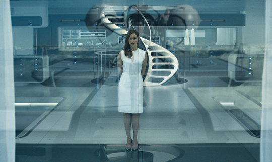 "Andrea Riseborough in ""Oblivion"". ©Universal Pictures"