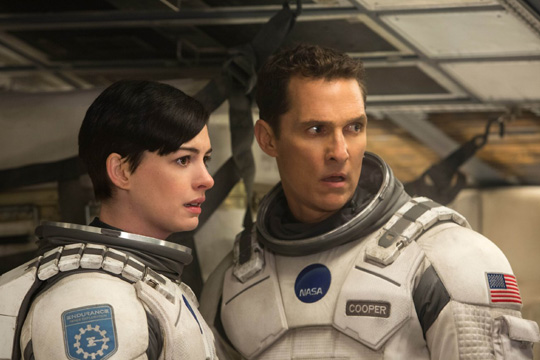 "Anne Hathaway in ""Interstellar"". ©Warner Bros. / Paramount"