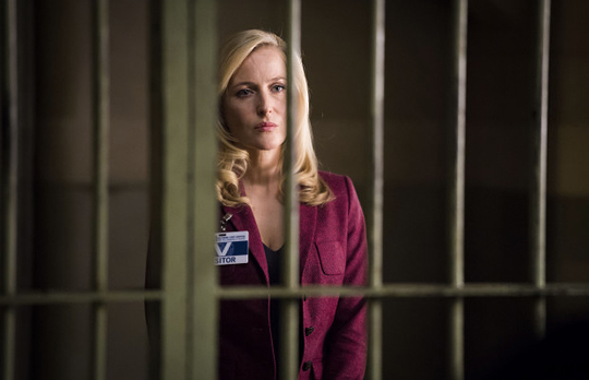 "Gillian Anderson in ""Hannibal"". ©NBC"