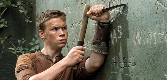 "Will Poulter in ""The Maze Runner"". ©20th Century Fox"