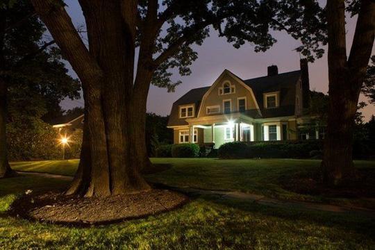 Das heimgesuchte Haus in New Jersey. ©John O'Boyle für NJ Advance Media