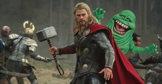 Tauscht Thor's Hammer gegen Büro-Austattung