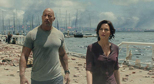 Kämpft gegen Riesenbestien: Dwayne Johnson in San Andreas. ©New Line/Warner