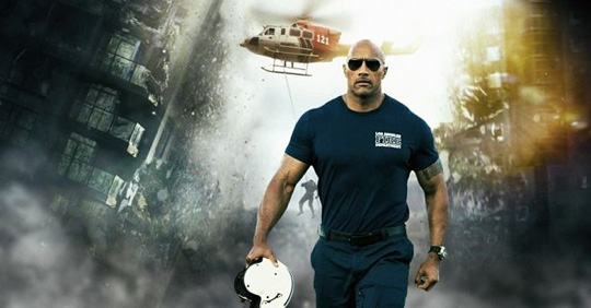 "Johnson kämpft in ""Rampage"" gegen haushohe Monster. ©New Line Cinema"