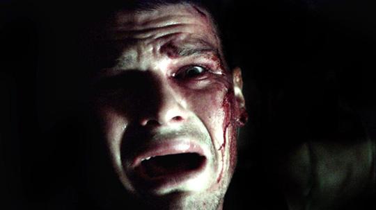 """Verängstigt und auf der Flucht: Nathan Phillips in """"Wolf Creek"""". ©StudioCanal"""
