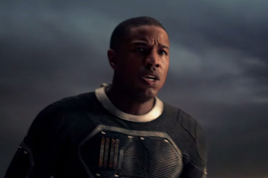 "Michael B. Jordan in ""Fantastic Four"". ©Constantin Film"