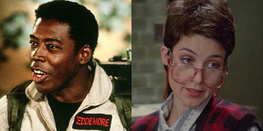 Ernie-Hudson-and-Annie-Potts-in-Ghostbusters