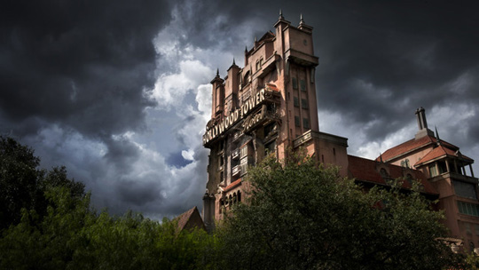 Der Tower of Terror in Walt Disney World. ©Disney