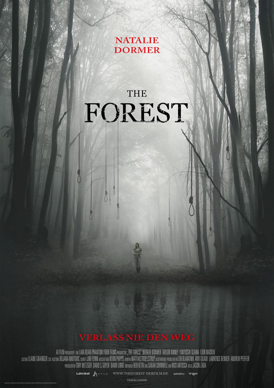 Plakat THE FOREST 297 x 420 mm FINAL