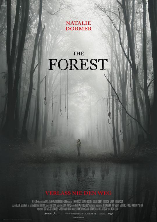 Plakat THE FOREST 297 x 420 mm FINAL