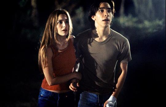 Gina Philips und Justin Long im ersten Film