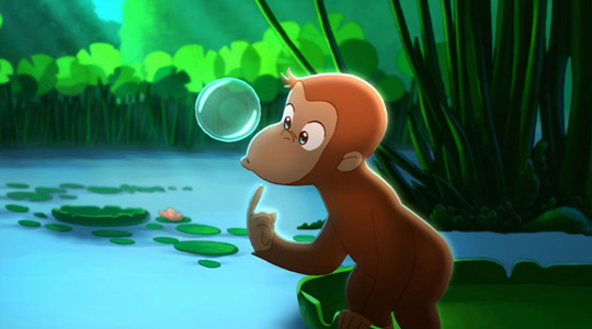 Sollte eigentlich laufen: Coco - Der neugierige Affe. ©ZDF/Kika