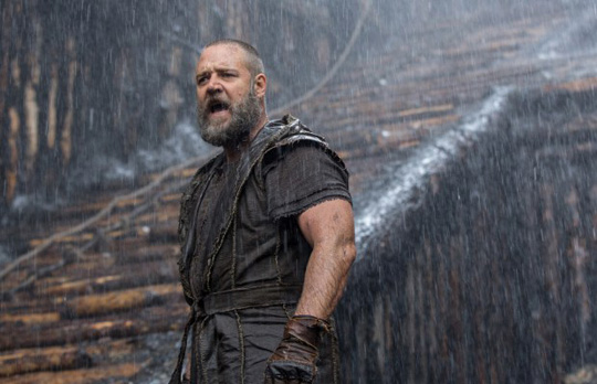 "Russell Crowe in ""Noah."" ©Paramount"