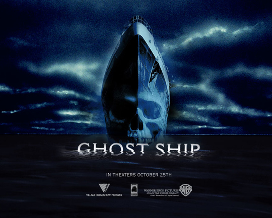 Spielt ebenfalls mit dem Horror auf hoher See: Ghost Ship