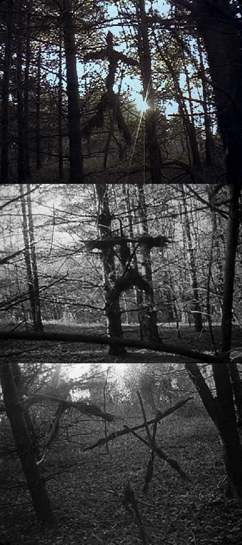 Die Stickman waren schon im Original als Hexen-Vorzeichen zu sehen