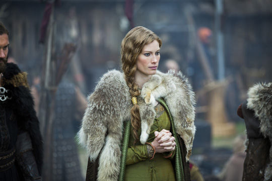 "Alyssa Sutherland in ""Vikings"". ©History"