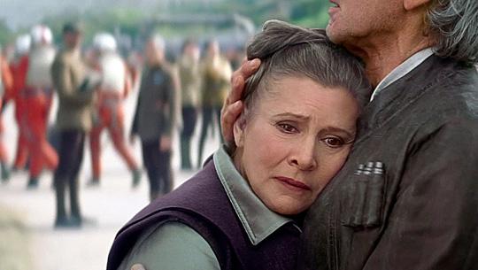 """Carrie Fisher in """"Star Wars: Das Erwachen der Macht"""""""