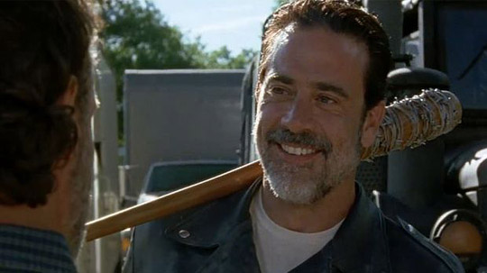 "Das pure Böse: Negan in ""The Walking Dead."" ©FOX"