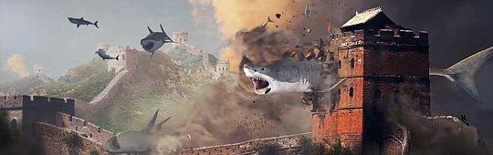 Sharknado 5: Global Swarming – Die Haie erobern die Welt: Neuer Comic-Con Trailer